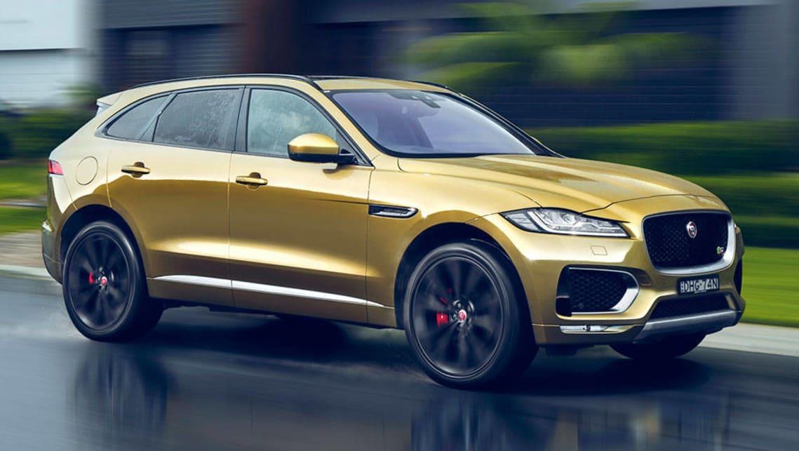 jaguar f-pace 2016 review | carsguide