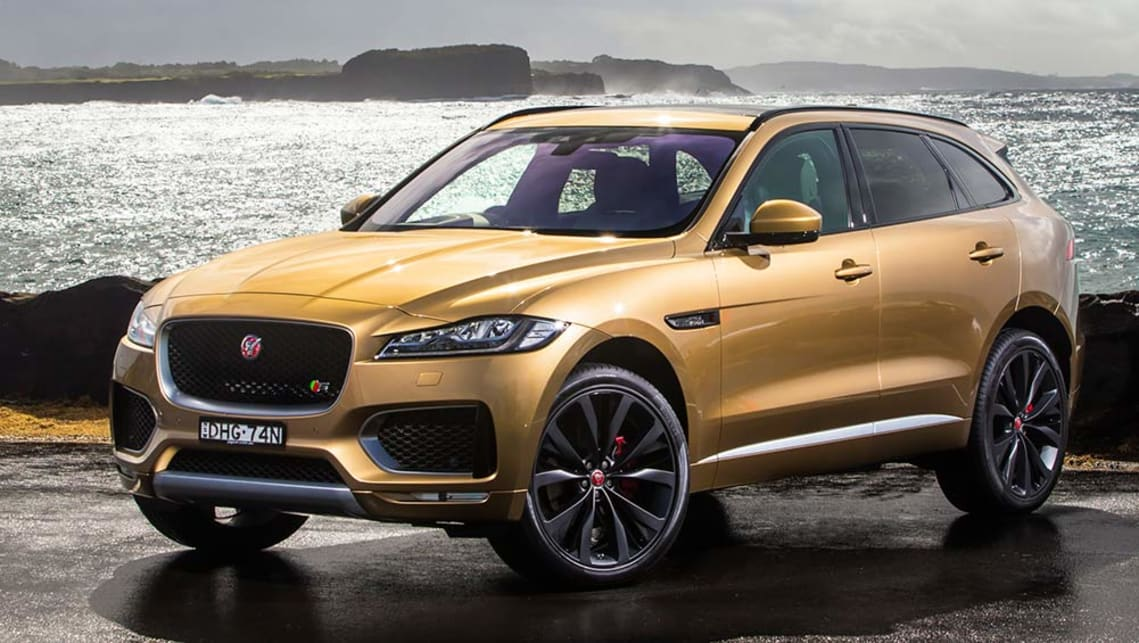 Jaguar f pace price in australia