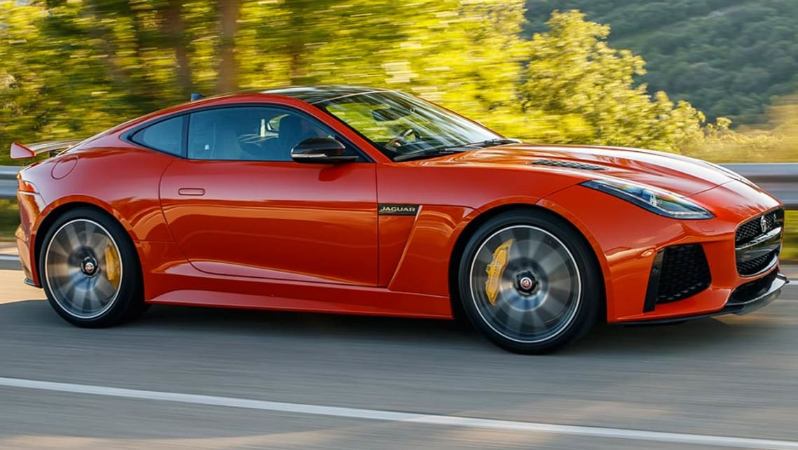 Jaguar Svr >> Jaguar F Type Svr 2016 Review Carsguide