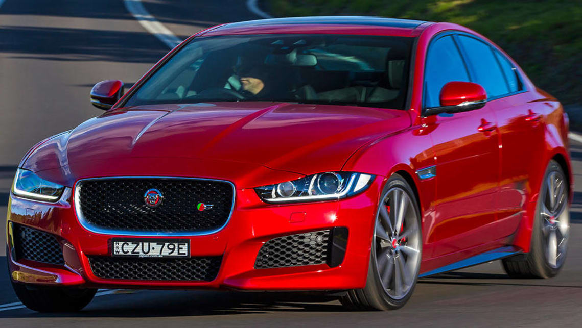 2016 jaguar xe s review road test carsguide. Black Bedroom Furniture Sets. Home Design Ideas