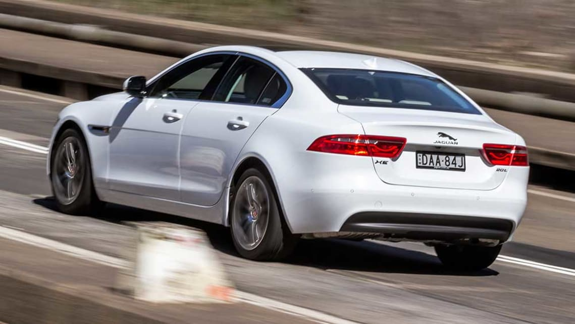 Jaguar XE Prestige Vs MercedesBenz C Review CarsGuide - 2015 jaguar xe