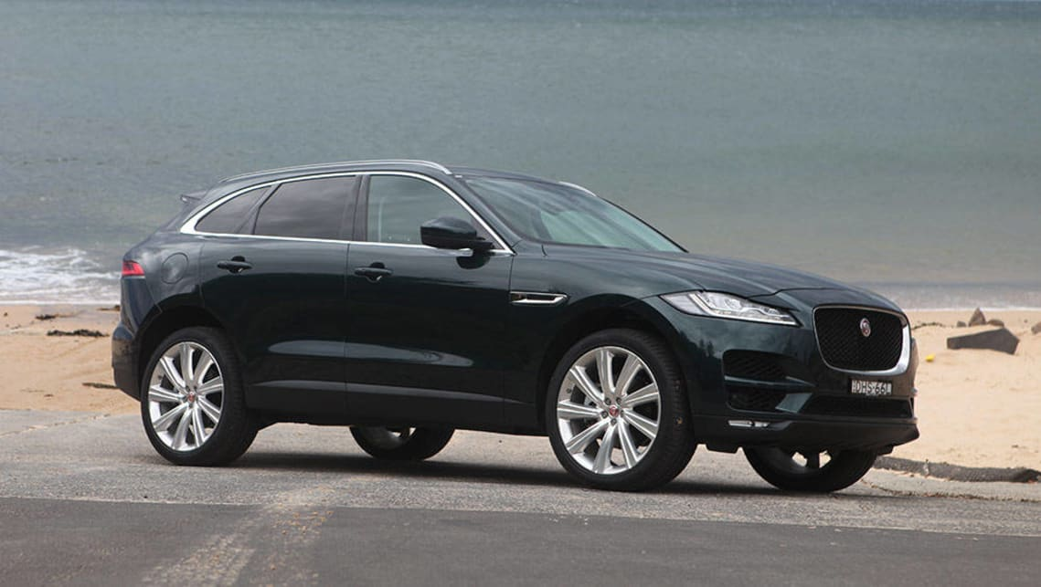 jaguar f pace portfolio diesel 2016 review road test carsguide. Black Bedroom Furniture Sets. Home Design Ideas