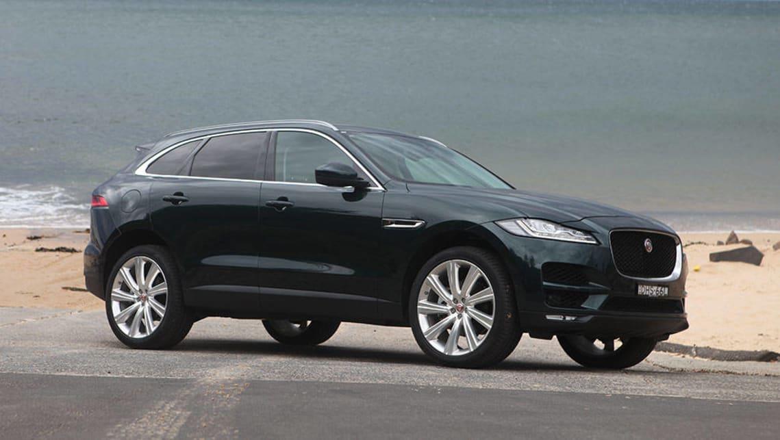 jaguar f pace portfolio diesel 2016 review carsguide. Black Bedroom Furniture Sets. Home Design Ideas