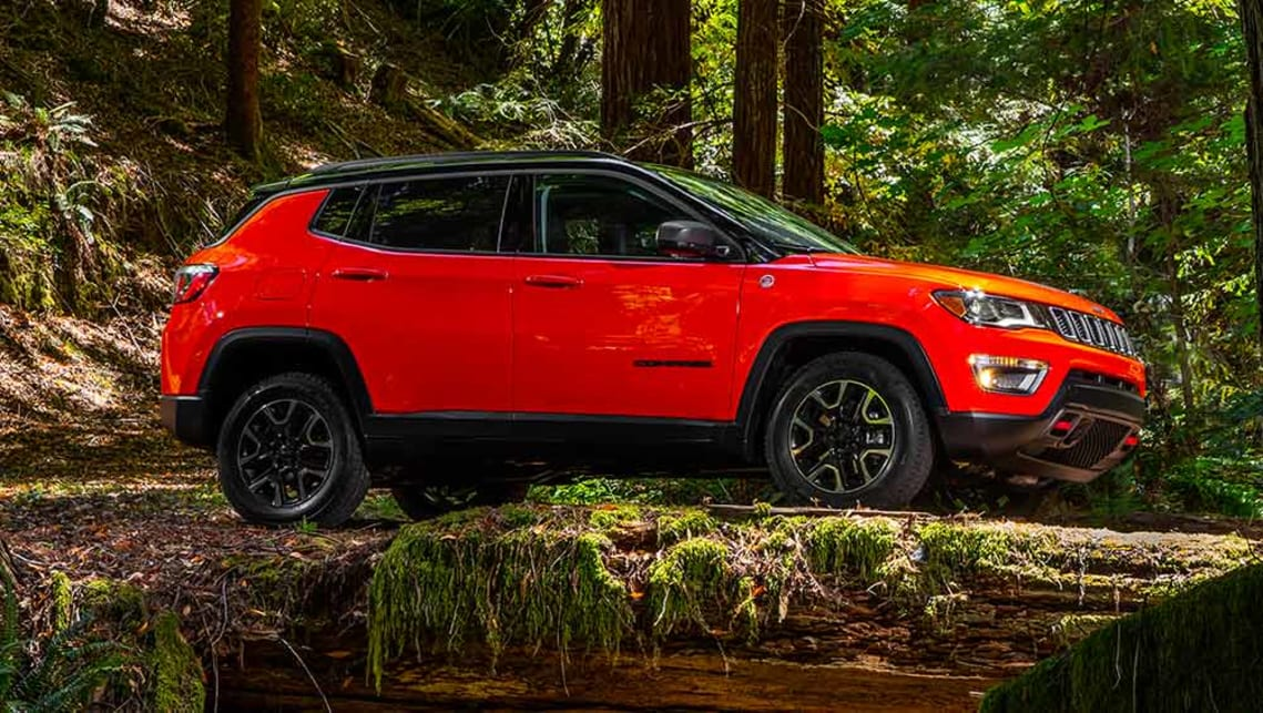 2017 Jeep Compass revealed - Car News | carsguide