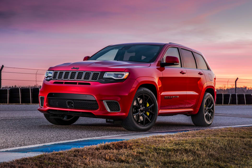 Jeep Grand Cherokee Trackhawk 2018 price and specification confirmed - Car News | CarsGuide