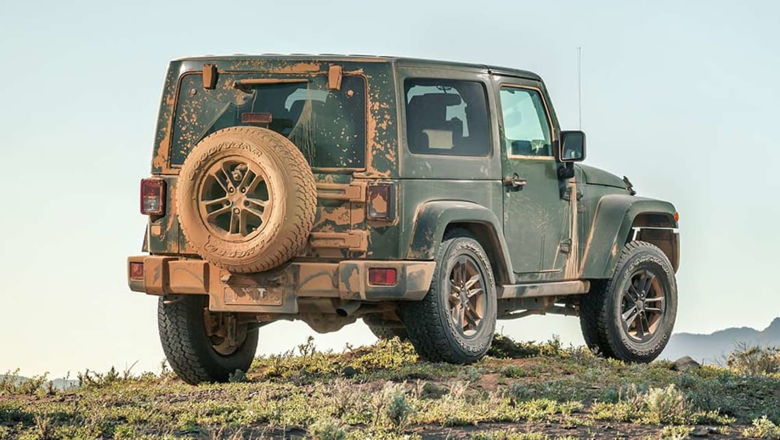 jeep wrangler 75th anniversary 2016 review road test. Black Bedroom Furniture Sets. Home Design Ideas
