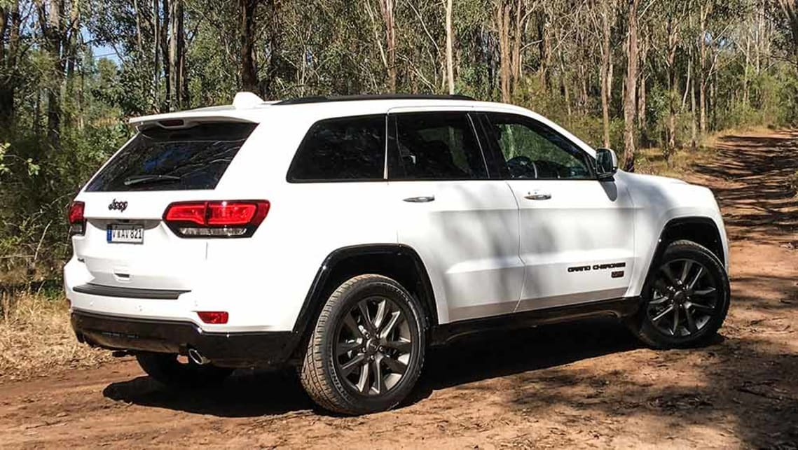Jeep Grand Cherokee White 2017 >> Jeep Grand Cherokee 75th Anniversary Edition 2017 Review Carsguide