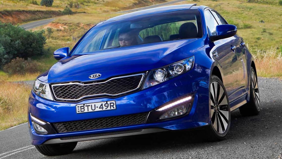 Lovely 2011 Kia Optima