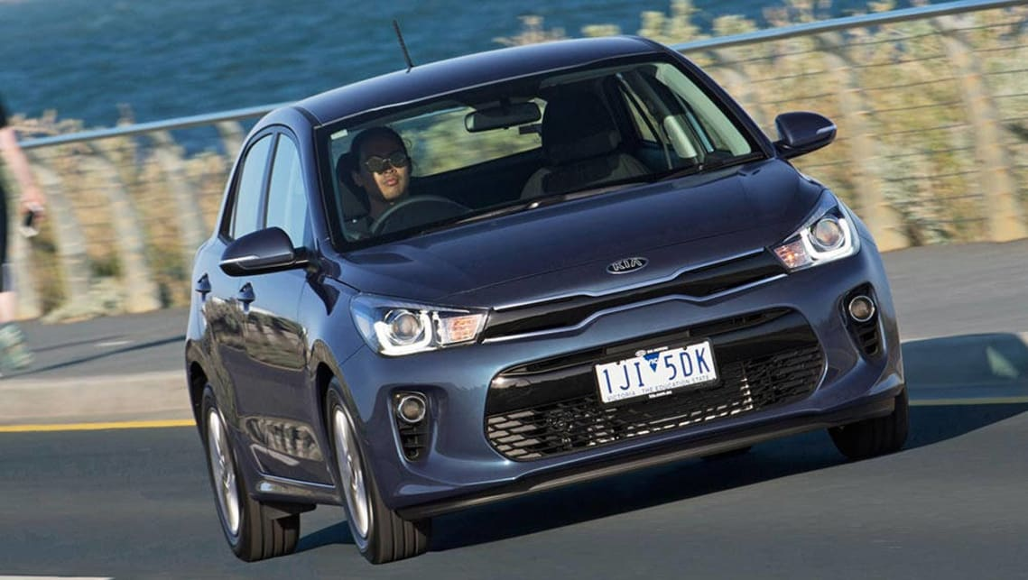 2017 kia rio new car sales price car news carsguide. Black Bedroom Furniture Sets. Home Design Ideas