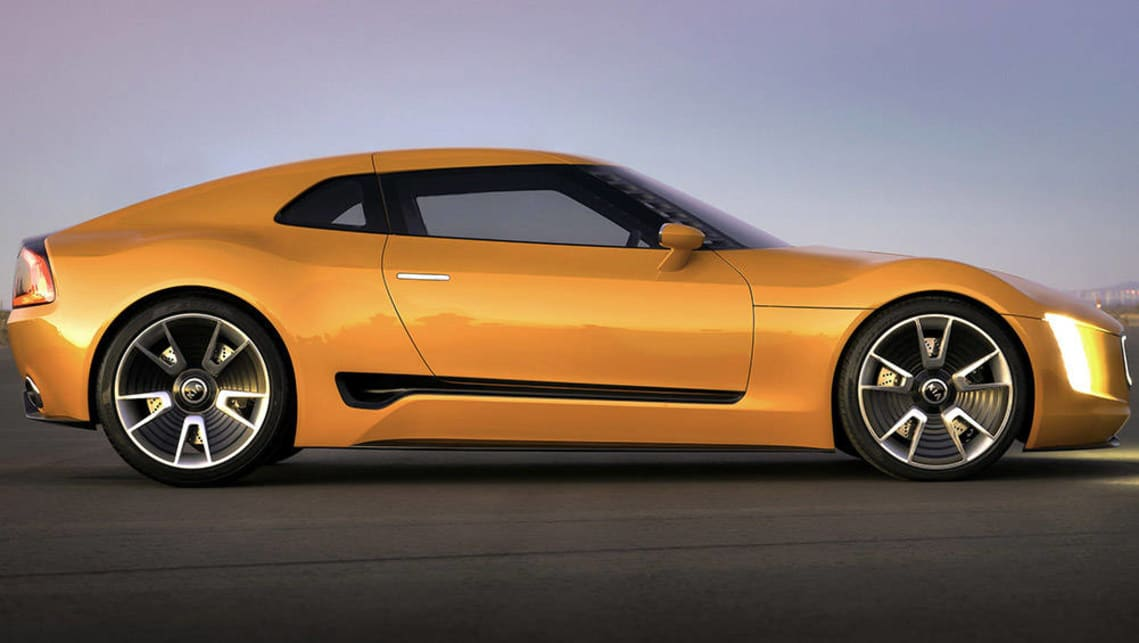 Kia Stinger sports car will arrive locally in 2017 - Car News ...