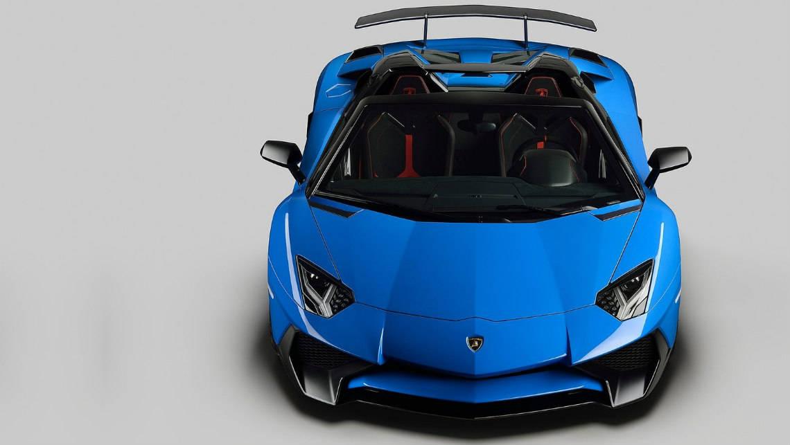 lamborghini aventador lp 750-4 superveloce roadster revealed - car