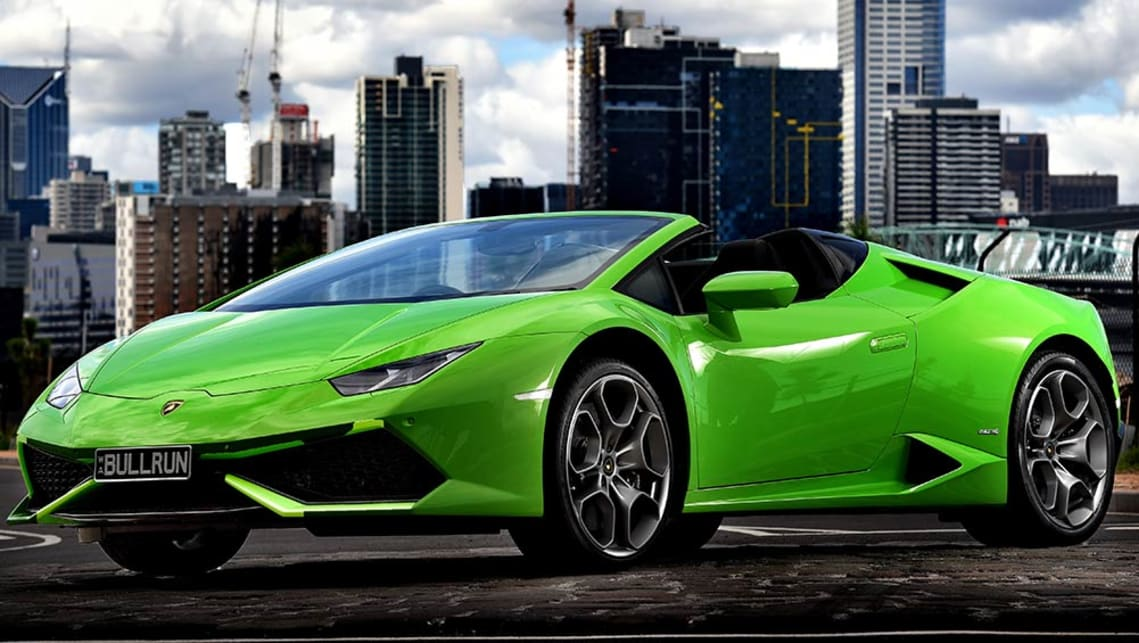 lamborghini huracan spyder 2016 review carsguide. Black Bedroom Furniture Sets. Home Design Ideas