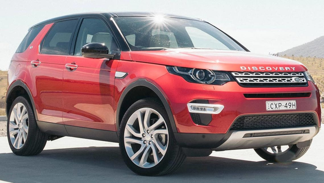 Luxury SUVs such as the Land Rover Discovery Sport (pictured) have surged in popularity.
