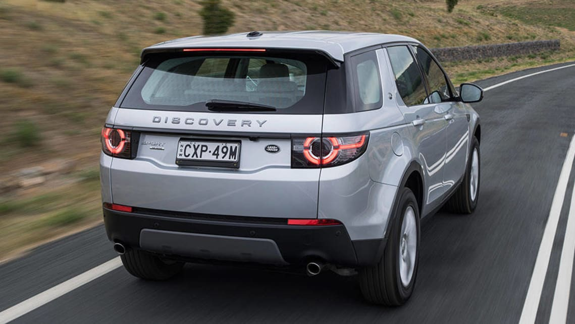 land rover discovery sport se td4 150 2016 review road test carsguide. Black Bedroom Furniture Sets. Home Design Ideas