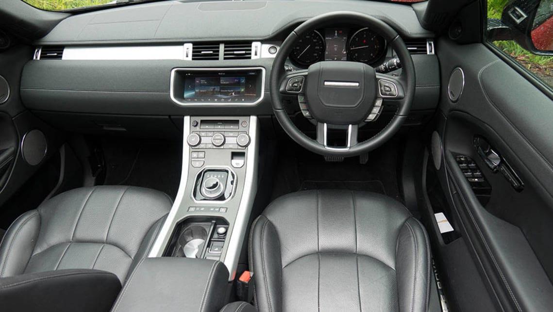Land Rover Evoque Interior 2017