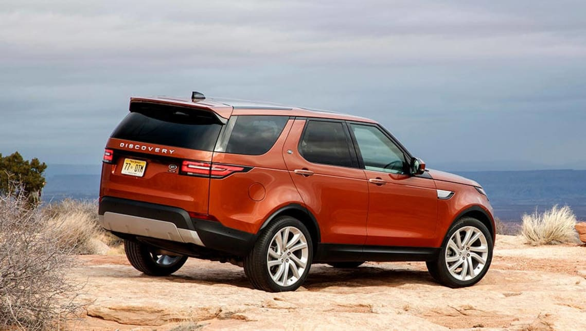 land rover discovery 2017 review first drive carsguide. Black Bedroom Furniture Sets. Home Design Ideas