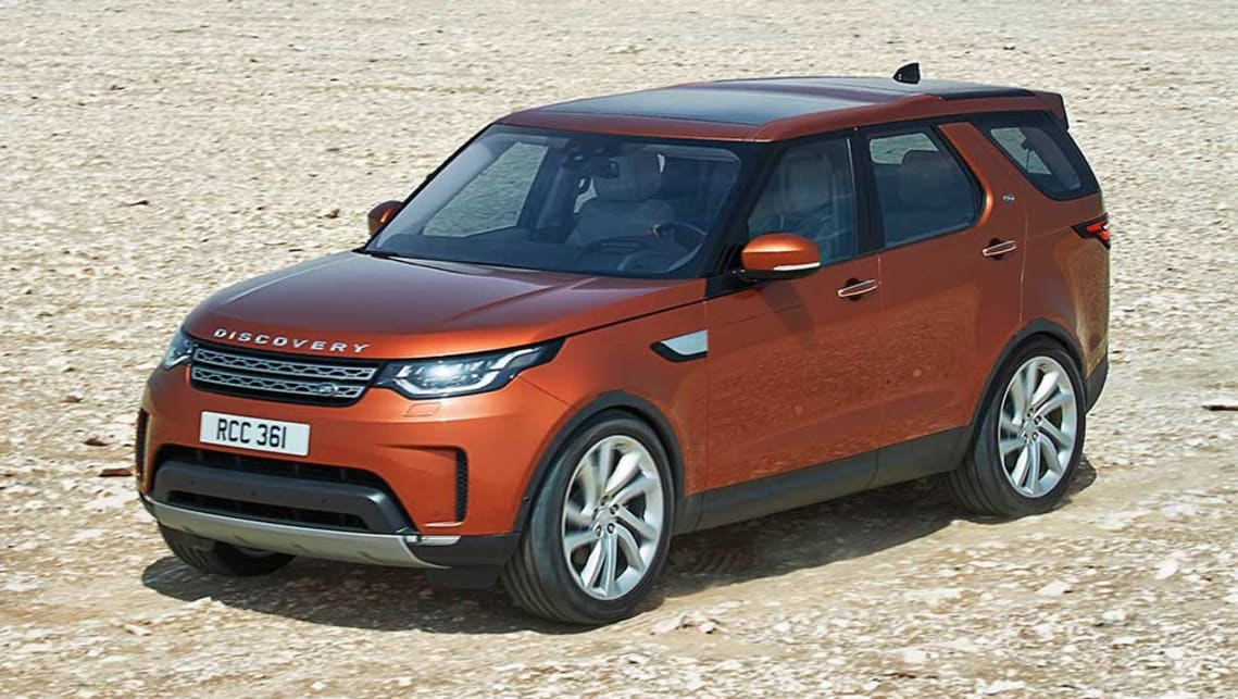 2017 land rover discovery revealed video car news carsguide. Black Bedroom Furniture Sets. Home Design Ideas