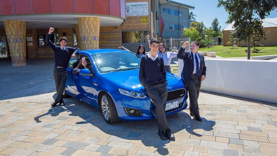 Ford Australia CEO Graeme Whickman said the proceeds of the auction are to be donated to the Geelong community and a student robotics engineering program.