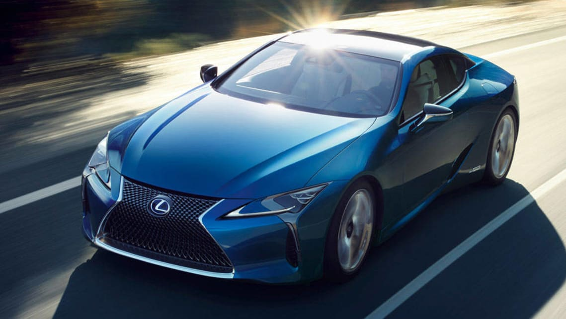 Lexus Charges Toward Performance Hybrid Future Car News Carsguide
