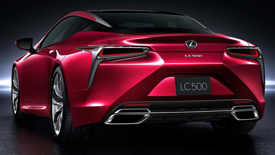 Toyota Latest Models >> 2017 Lexus LC500 detailed - Car News | CarsGuide