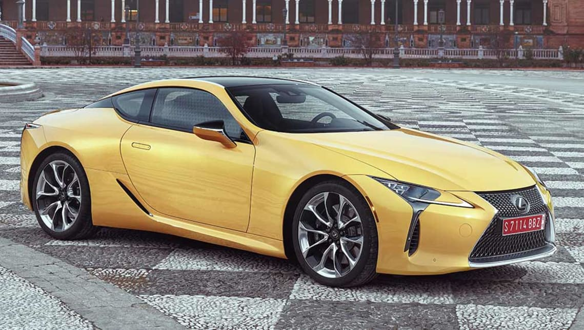 lexus lc 500 2017 review | carsguide