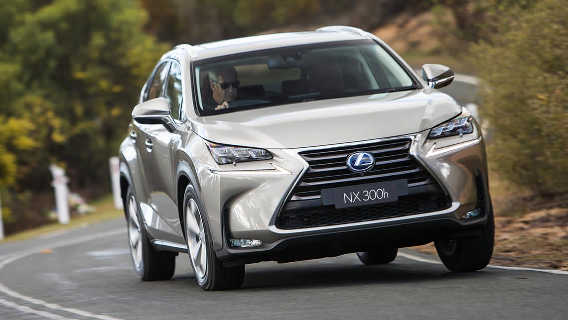 Captivating 2014 Lexus NX300h