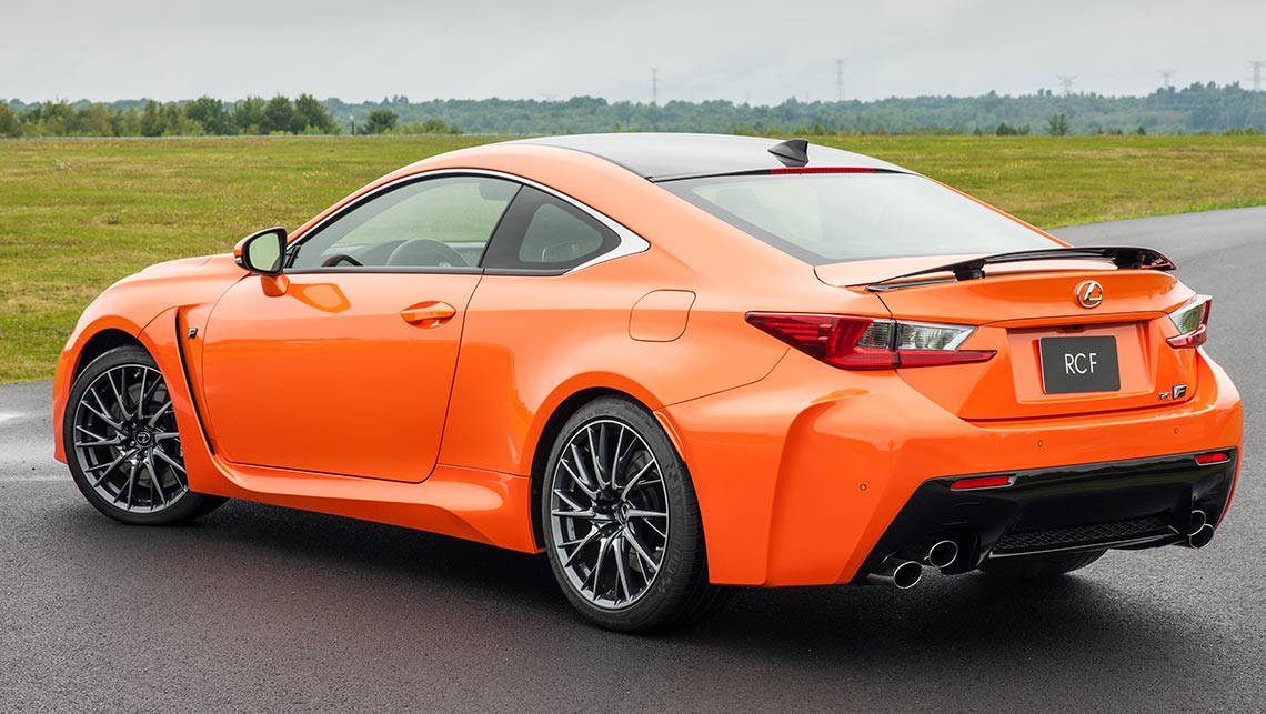 Lexus RC F and RC 350 2015 Review | CarsGuide