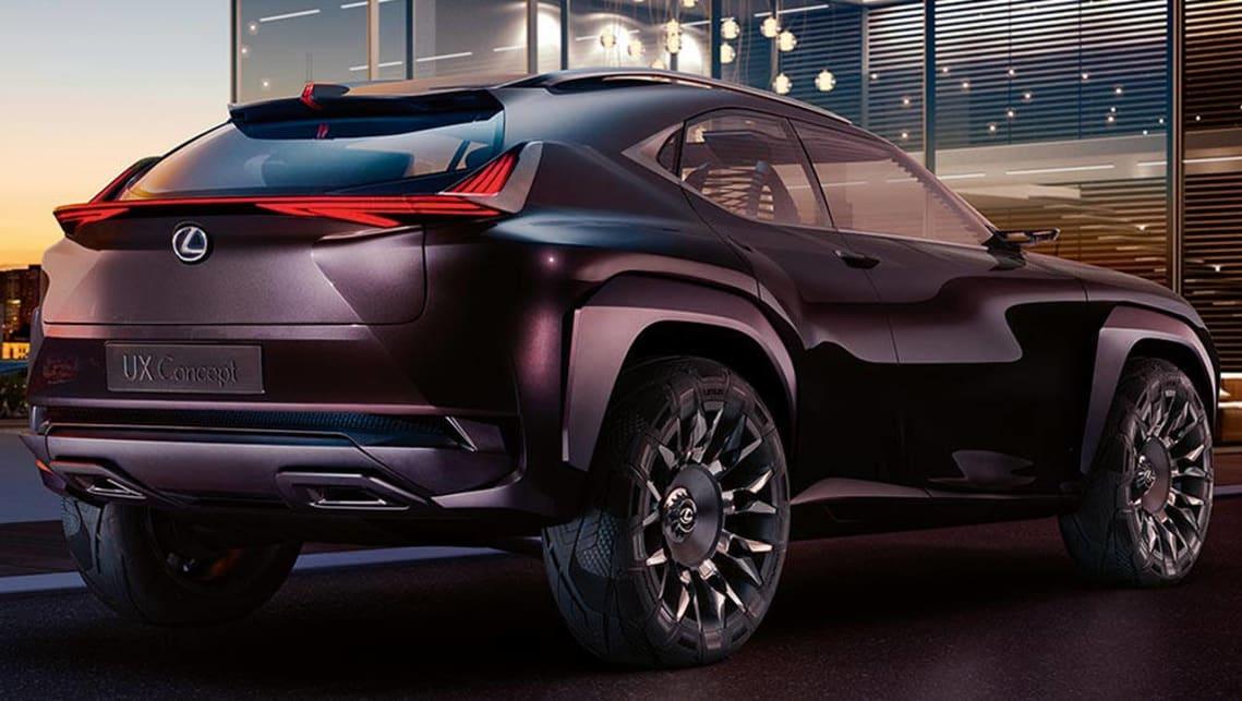 lexus teases ux compact suv concept ahead of paris car. Black Bedroom Furniture Sets. Home Design Ideas