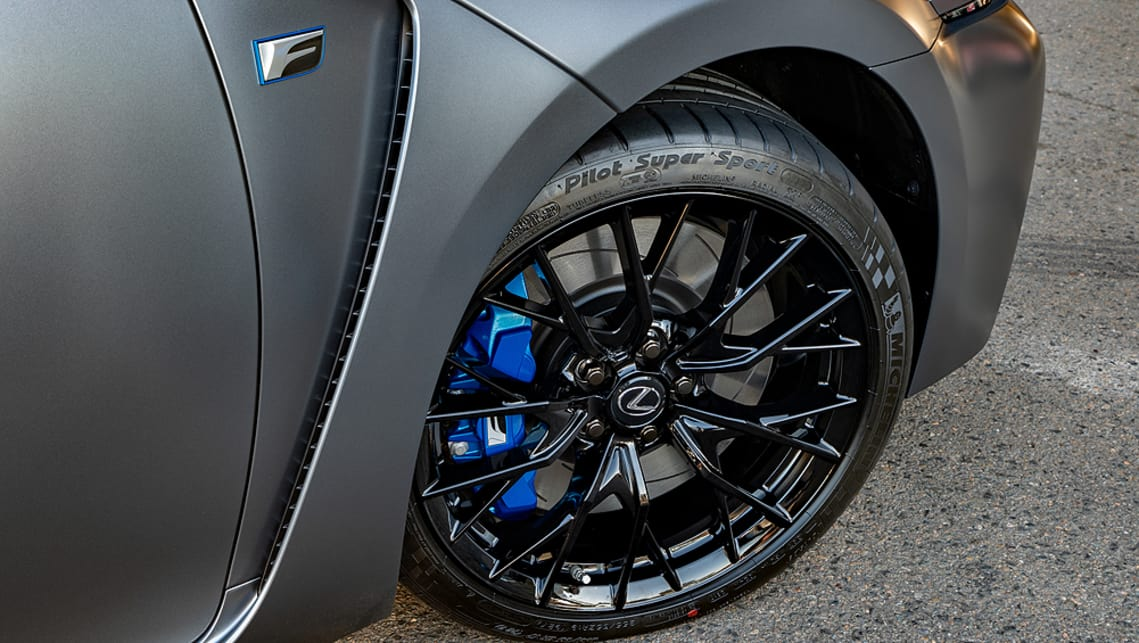 Both cars feature unique matt grey paint, a black polished finish for the 19-inch alloy wheels, and Competition Blue brake calipers.