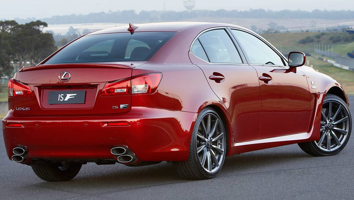 2014 lexus isf specs - photo #40