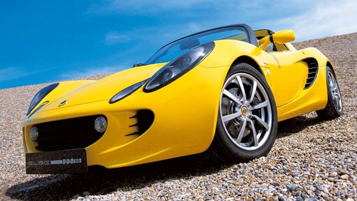 2002 Lotus Elise 111S