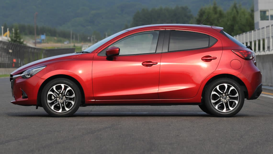 2015 mazda 2 review japan first drive carsguide. Black Bedroom Furniture Sets. Home Design Ideas