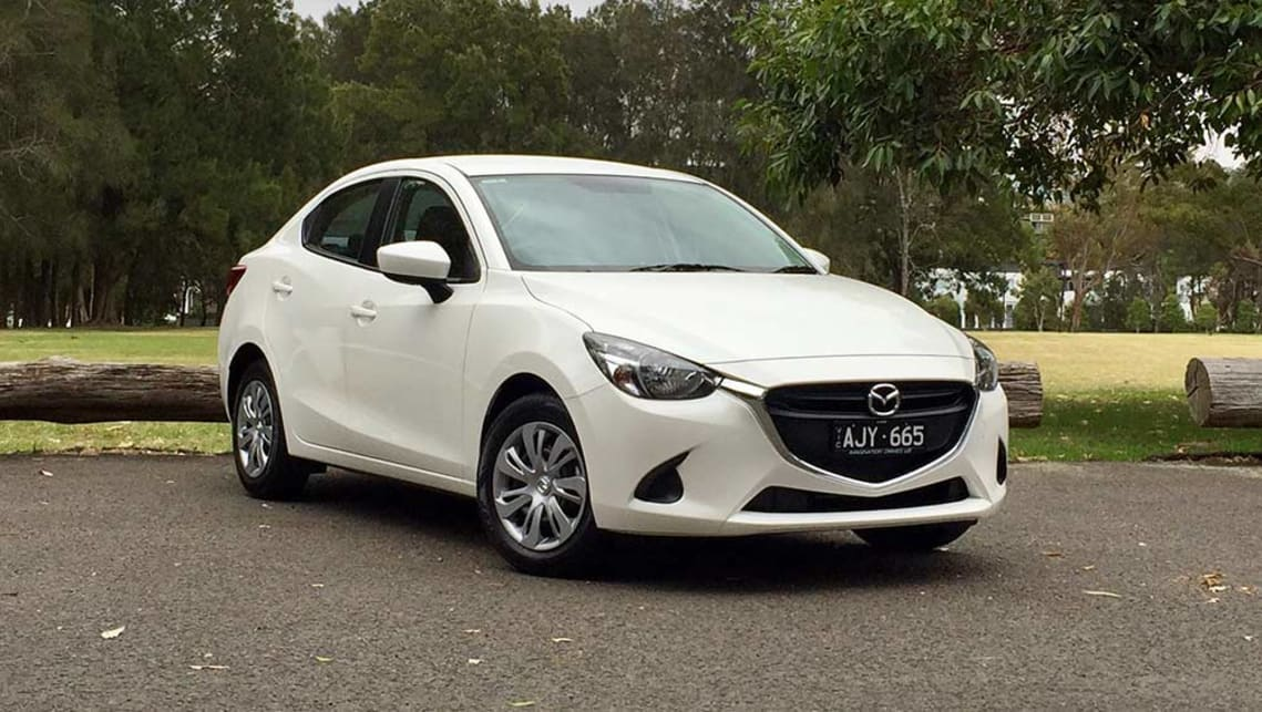mazda 2 neo sedan 2017 review road test carsguide. Black Bedroom Furniture Sets. Home Design Ideas