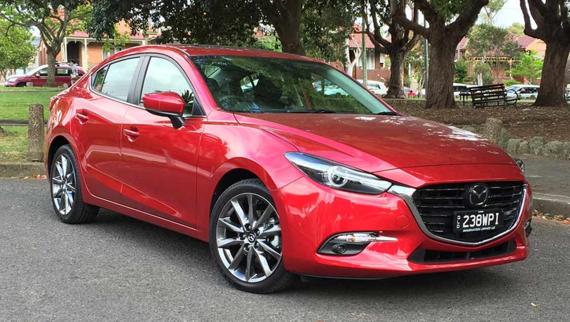 Captivating 2016 Mazda3 SP25 Astina Sedan