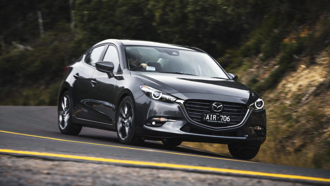 Mazda 3 tops  January sales