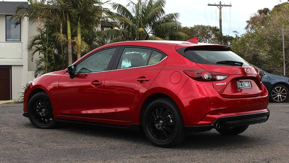 mazda 3 astina hatch 2017 review road test carsguide. Black Bedroom Furniture Sets. Home Design Ideas