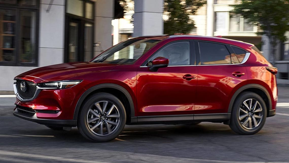 2017 mazda cx 5 revealed ahead of la video car news. Black Bedroom Furniture Sets. Home Design Ideas