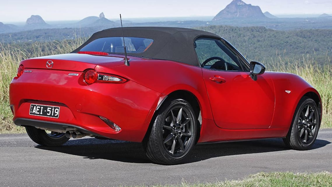 mazda mx 5 1 5 litre automatic 2015 review carsguide. Black Bedroom Furniture Sets. Home Design Ideas