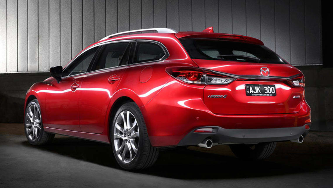 mazda 6 atenza 2016 review first drive video carsguide. Black Bedroom Furniture Sets. Home Design Ideas