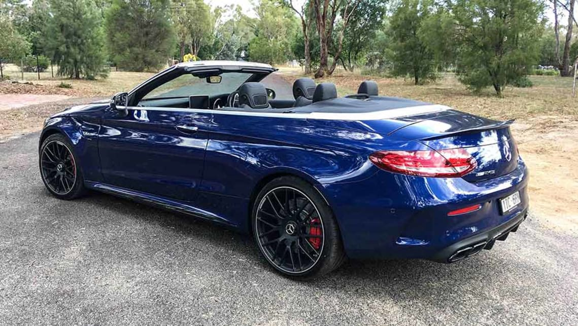mercedes amg c63 s cabriolet 2017 review carsguide. Black Bedroom Furniture Sets. Home Design Ideas