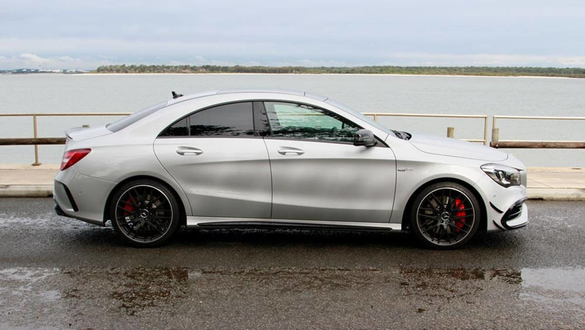 Mercedes Amg Cla 45 2016 Review Road Test Video Carsguide