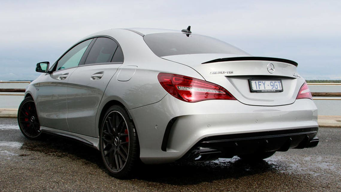 Mercedes benz cla 45 amg 2016 review carsguide for 2016 mercedes benz cla45 amg