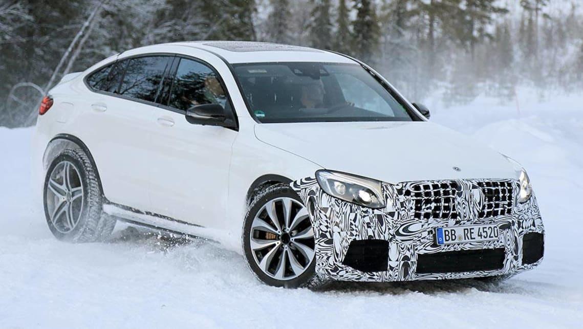 2018 Mercedes Amg Glc 63 Spy Pics Car News Carsguide