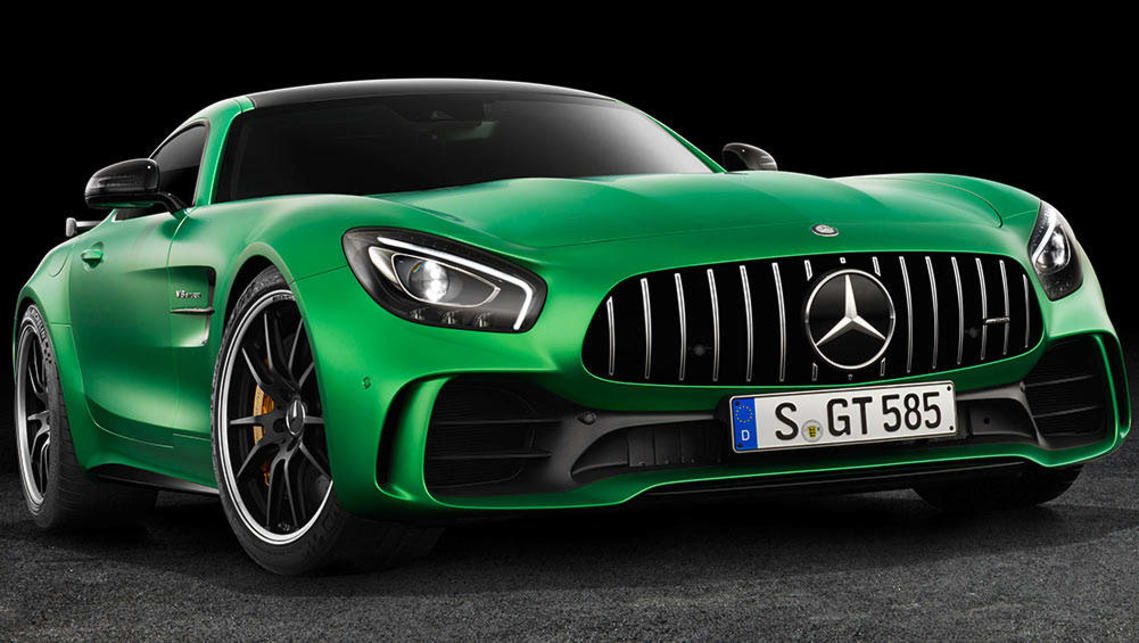 Mercedes amg gt r revealed ahead of 2017 launch car news for Mercedes benz amg gt coupe price