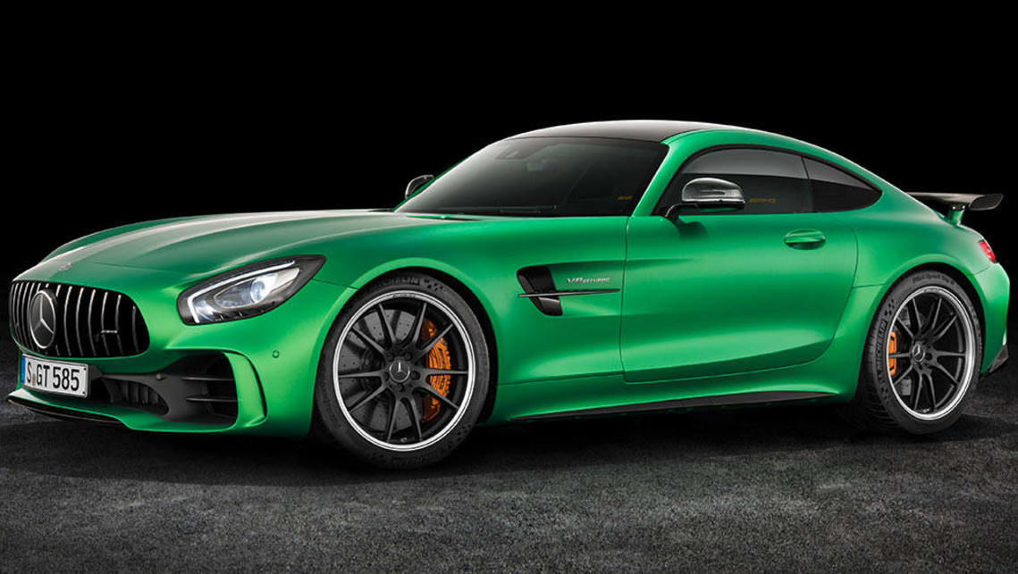 mercedes amg gt r revealed ahead of 2017 launch car news carsguide. Black Bedroom Furniture Sets. Home Design Ideas