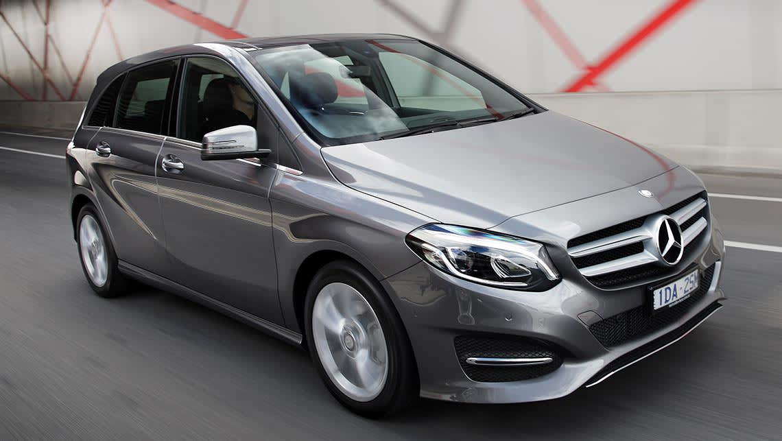Mercedes benz b class 2015 review carsguide for What is service a and b on mercedes benz