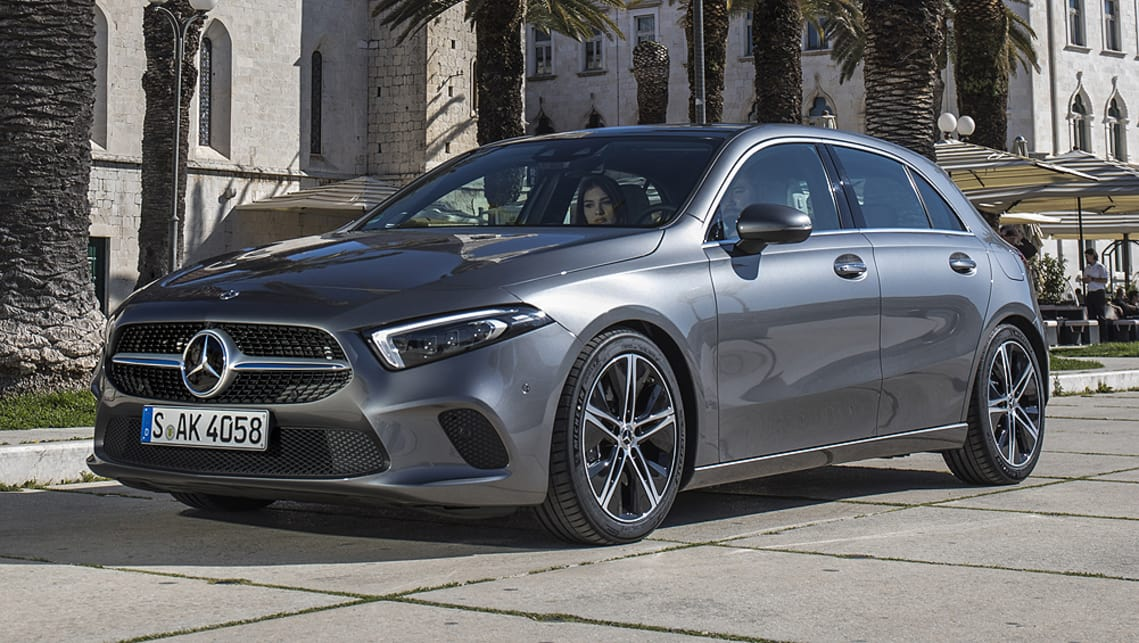 mercedes benz a200 2018 pricing and specs confirmed car news carsguide. Black Bedroom Furniture Sets. Home Design Ideas
