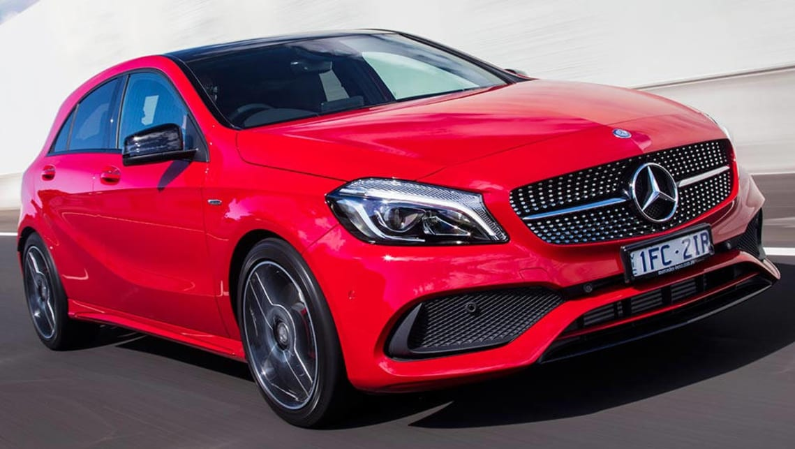 Mercedes benz a250 review