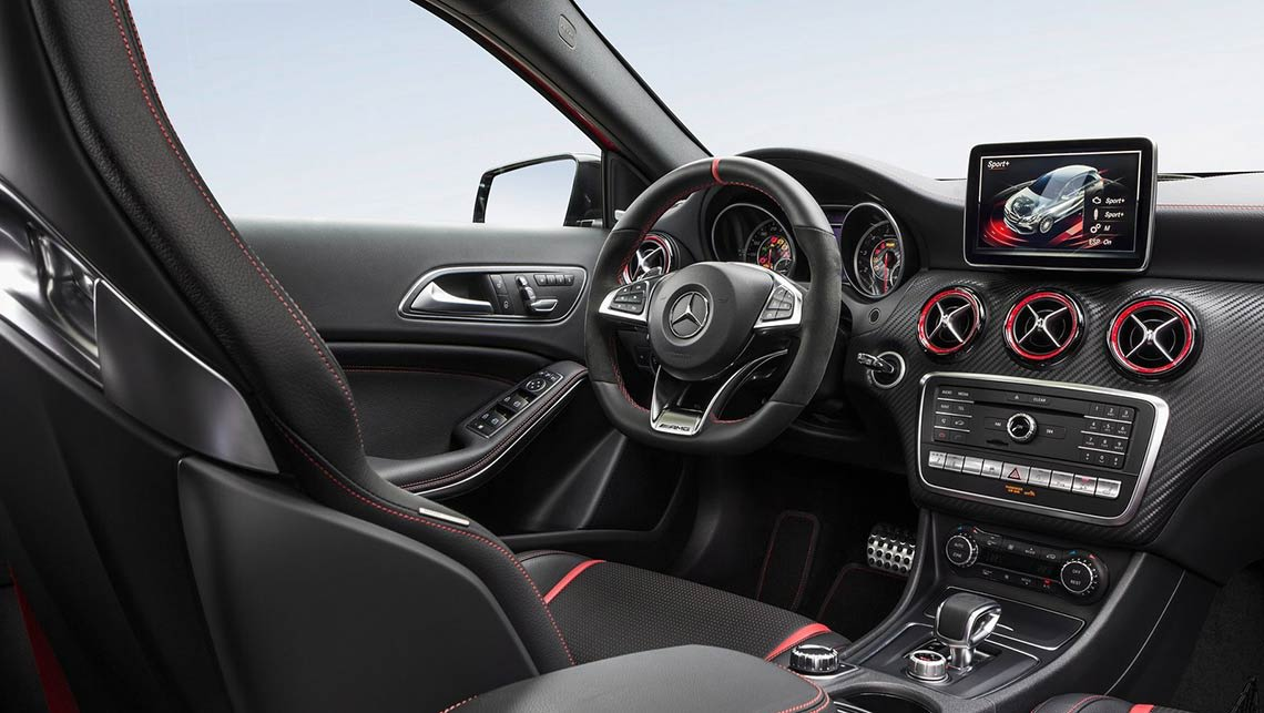 Mercedes Amg A45 4matic 2016 Review Carsguide