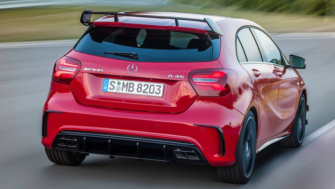 Mercedes-AMG A45 4Matic 2016 review | CarsGuide